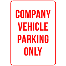 Company Vehicle Prking Only Si