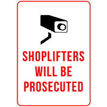 Ready Designed Signs General Business Signs Shoplifting and