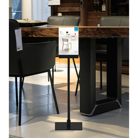 Table Top/Counter POS Stand Vertical A6 Portrait
