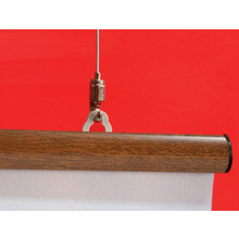 Dark Wood Snap Hanger 1200mm