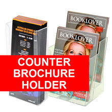 Counter Brochure Holder