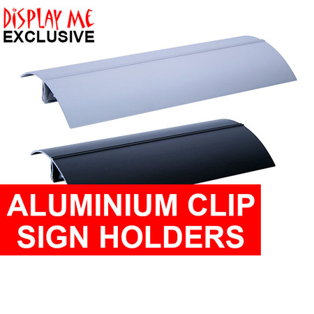 Aluminum Clip Sign Holder