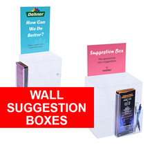 Wall Suggestion Boxes