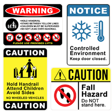 A3 Metal Warning and Regulation Signs