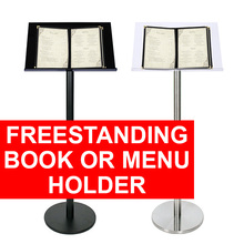 Freestanding Book or Menu Holder